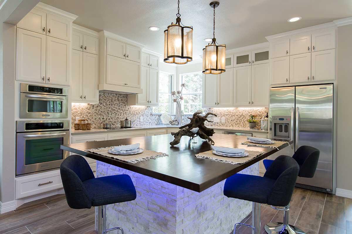 Kitchen remodel by best interior designers in Austin.